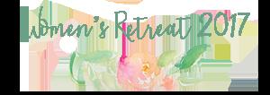 Women's Retreat 2017 logo